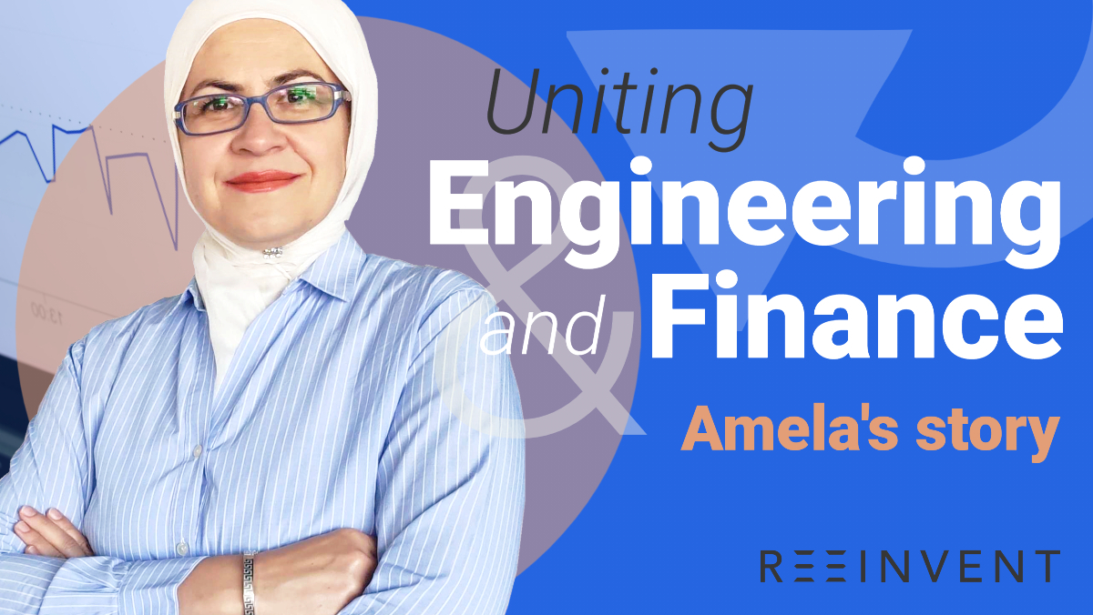 Uniting Engineering and Finance - Amela's story