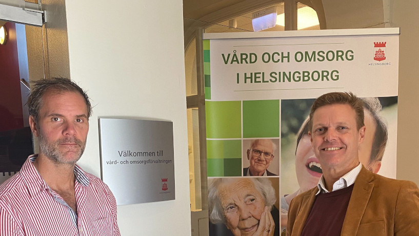 AI schedule at Helsingborgs stads Department for Caring and Nursing